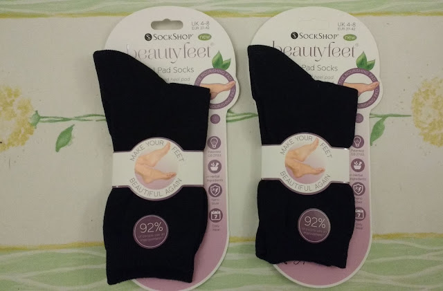 Sockshop Beauty Feet review How to get beautiful feet