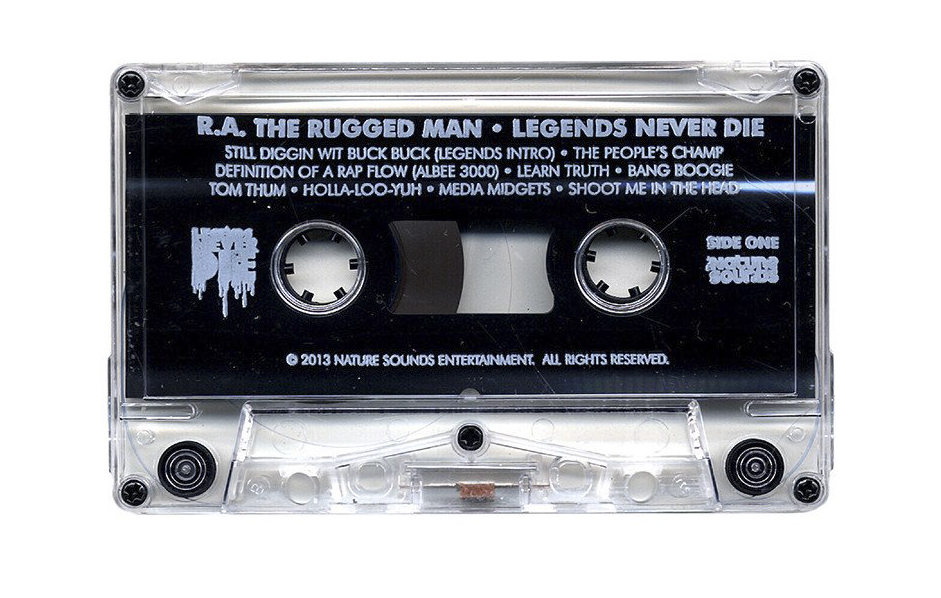 R A The Rugged Man Legends Never Cette