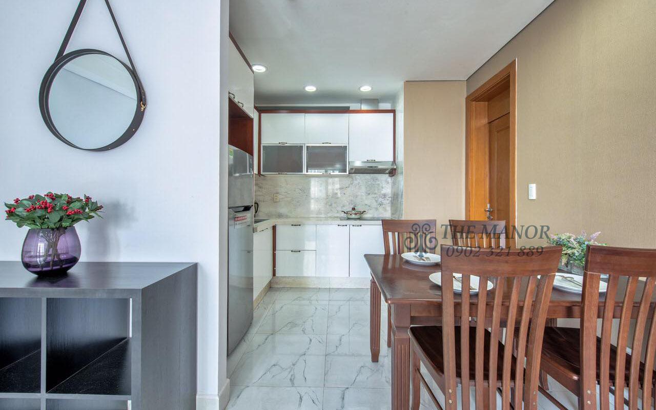 Cho thuê căn hộ chung cư The Manor 2PN - bàn ăn gia đình