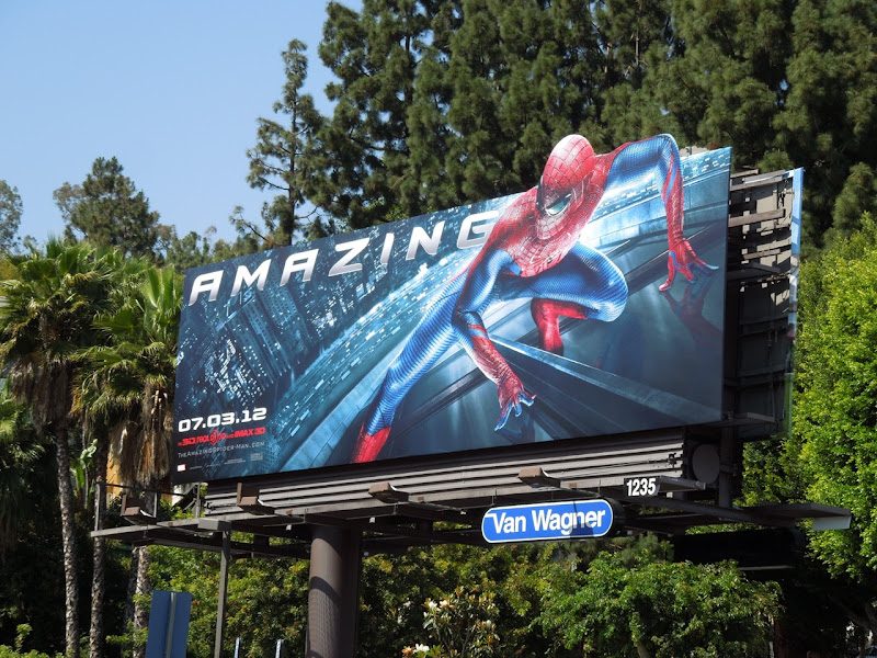 Amazing Spiderman 2012 billboard