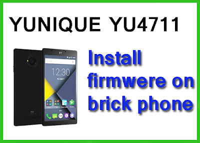 Flash firmware yu4711