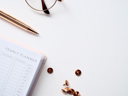 Yearly Planner for Blogger Tax