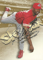 1999 SkyBox Premium Autographics #42 Robert Person