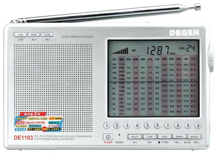 Радиоприемник Degen DE-1103 по летней цене!