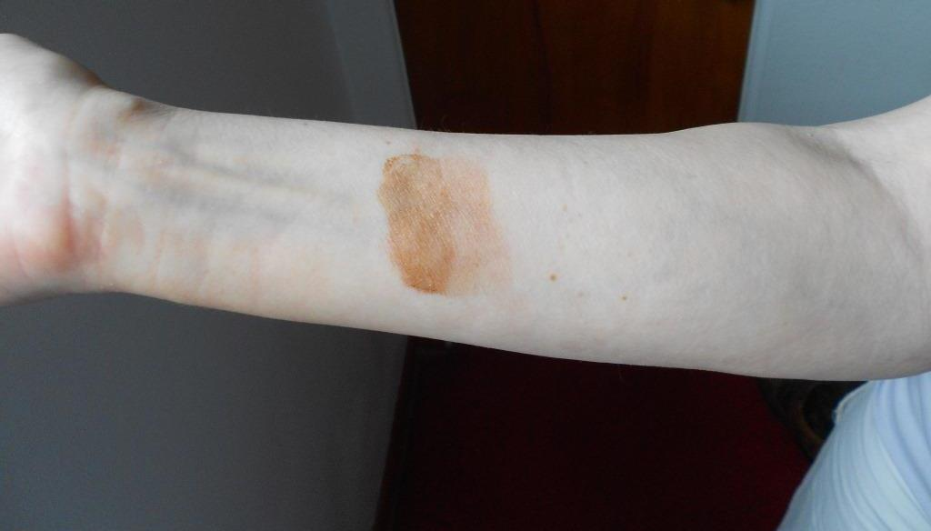 Bronze Your Selfie Swatched Arm