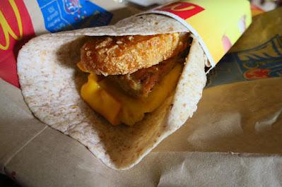 McD breakfast wrap