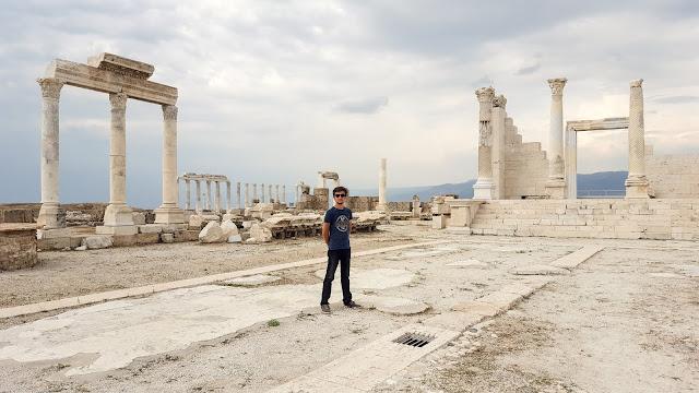 Harun İstenci Denizli Laodikeia'da