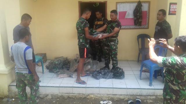 Tingkatkan Semangat Kerja Satgas TMMD, Kodim 1407/Bone Distribusikan Kaporlap