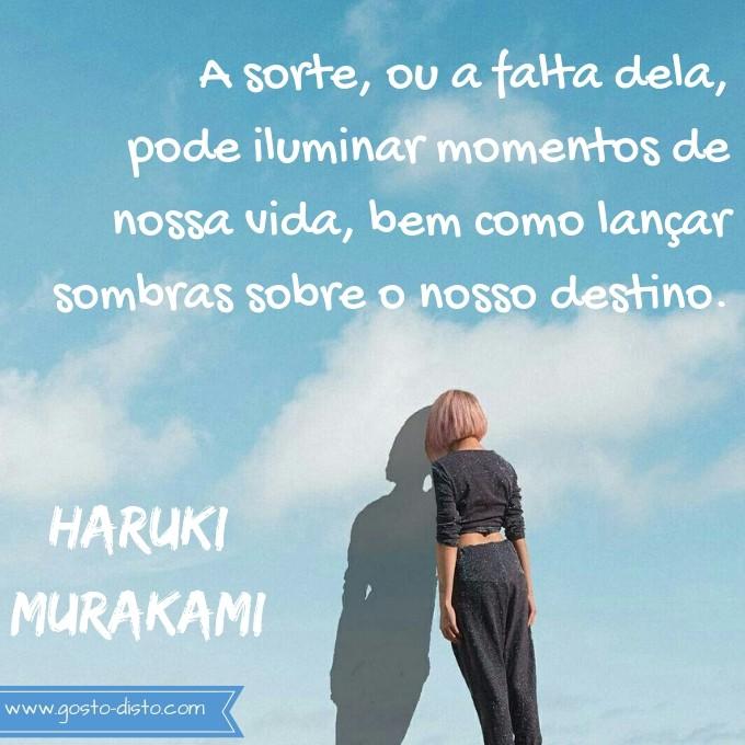 Pensamento de Haruki Murakami