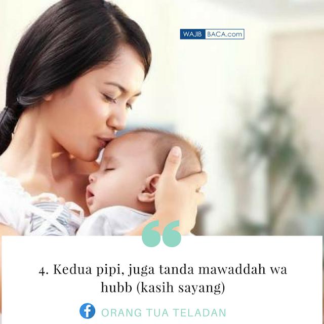 4 Anggota Tubuh Anak yang Perlu Dicium Orangtua Setiap Hari Sesuai Anjuran Nabi