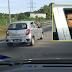 'Pemandu Axia BNJ 3879 Kurang Ajar!'