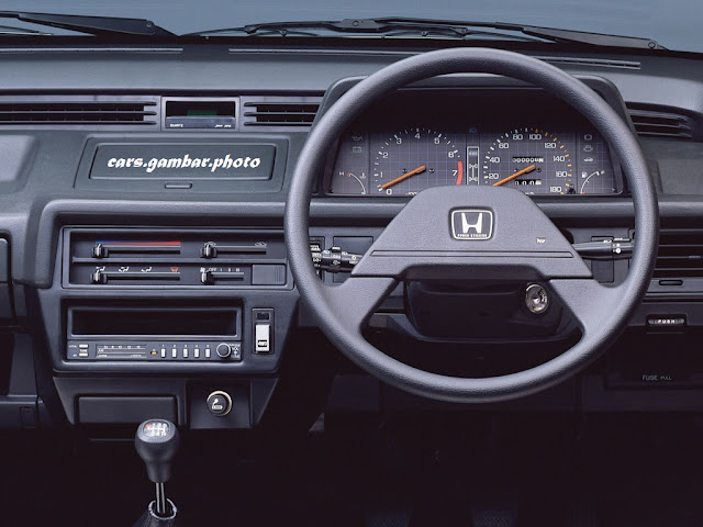Honda Civic Shuttle 4WD-J Dashboard