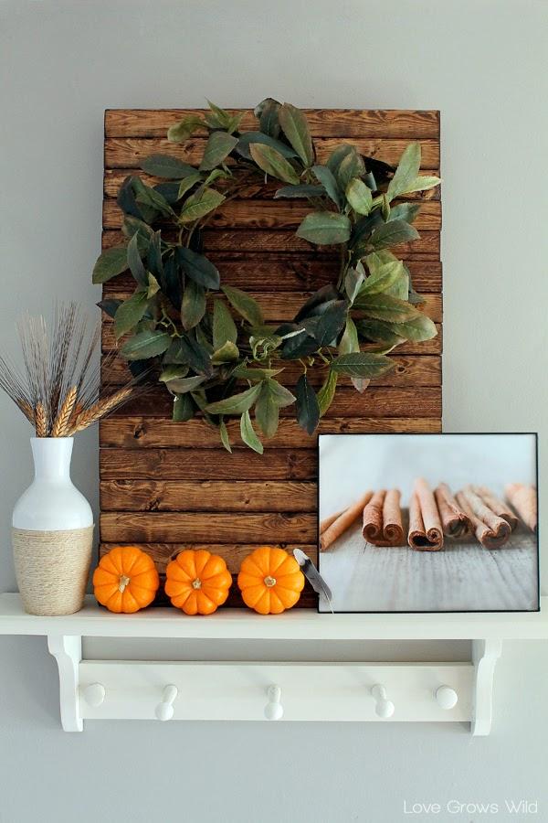 DIY Mini Wood Pallet - Love Grows Wild