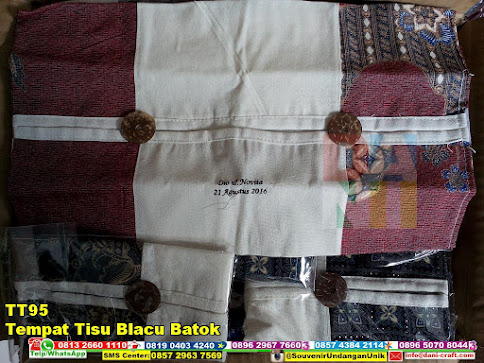 jual Tempat Tisu Blacu Batok