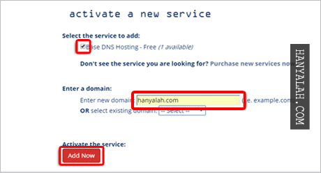 Cara custom domain blogspot