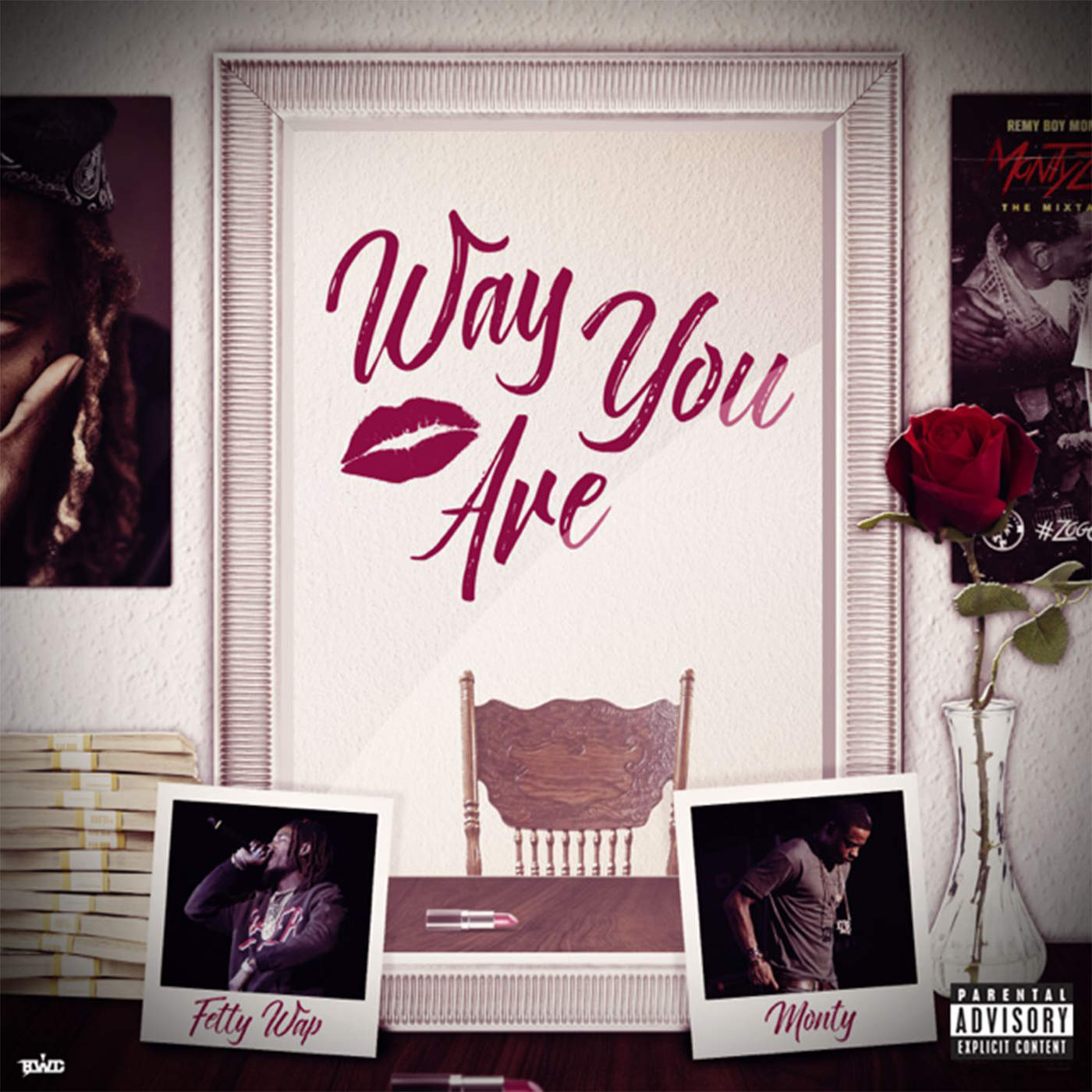 Fetty Wap - Way You Are (feat. Monty) - Single Cover