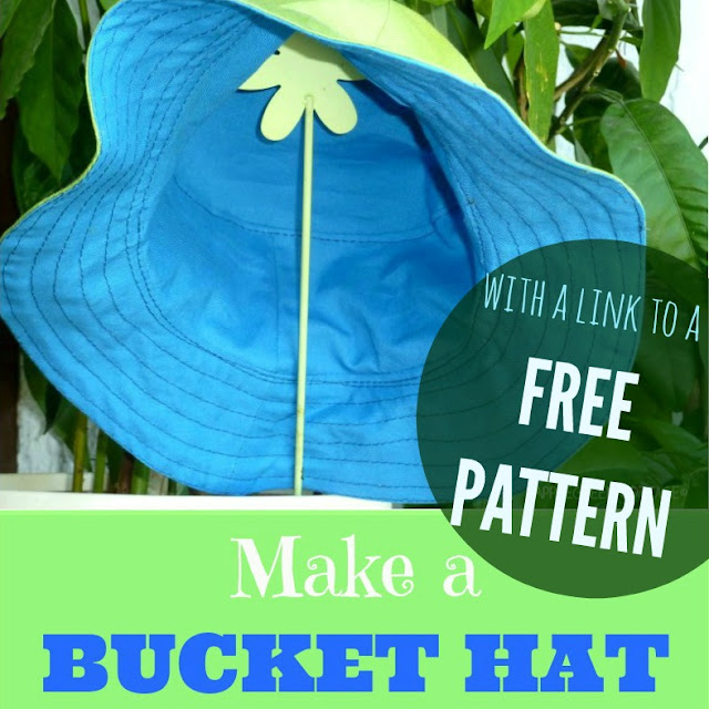 Tutorial  A Cute Bucket Hat - AppleGreen Cottage dc89f92797d