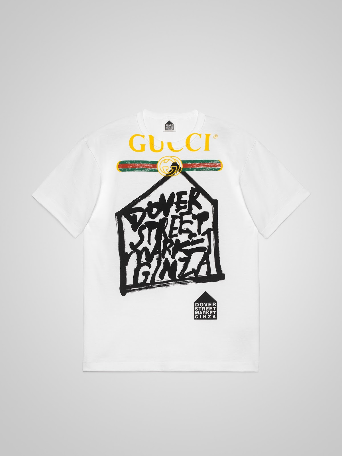 Gucci x Dover Street Market Ginza 5th Anniversary Limited Edition Tees