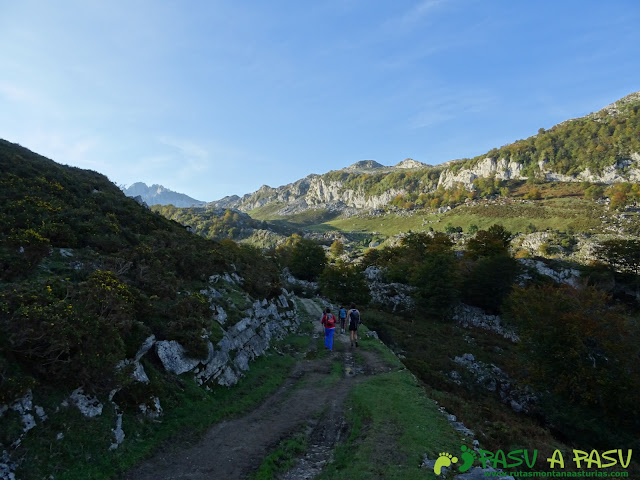 Ruta Requexón - Cotalba: Saliendo de Pan de Carmen a Vegarredonda
