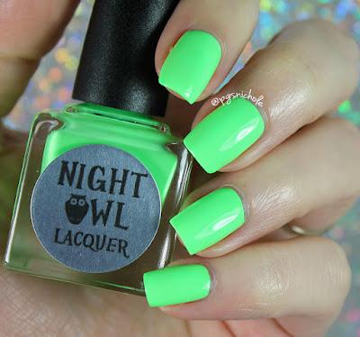 Night Owl Lacquer Wish | Light & Bright Neon Creams