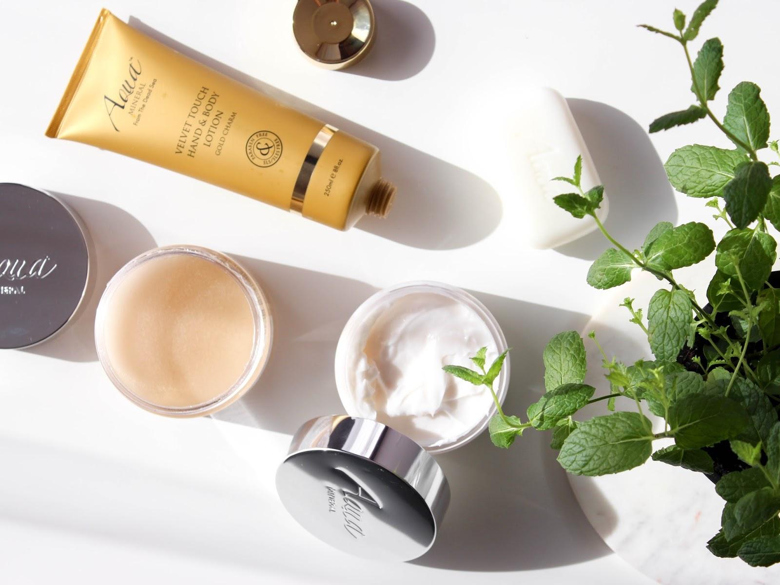aqua mineral tělová kosmetika recenze