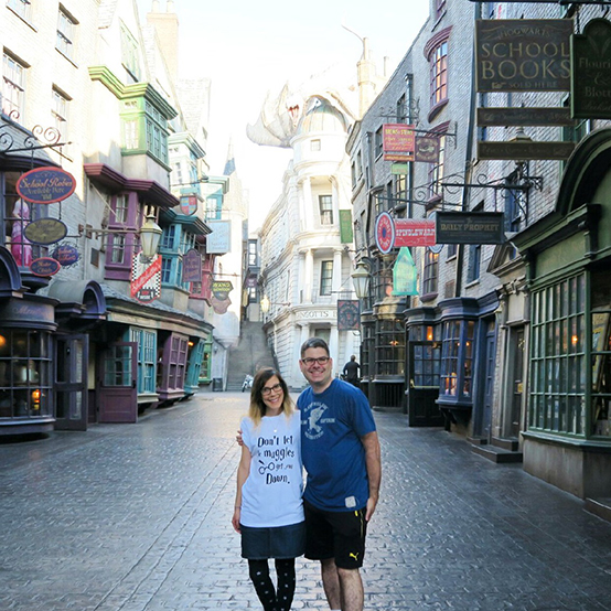 Orlando Weekend- Diagon Alley
