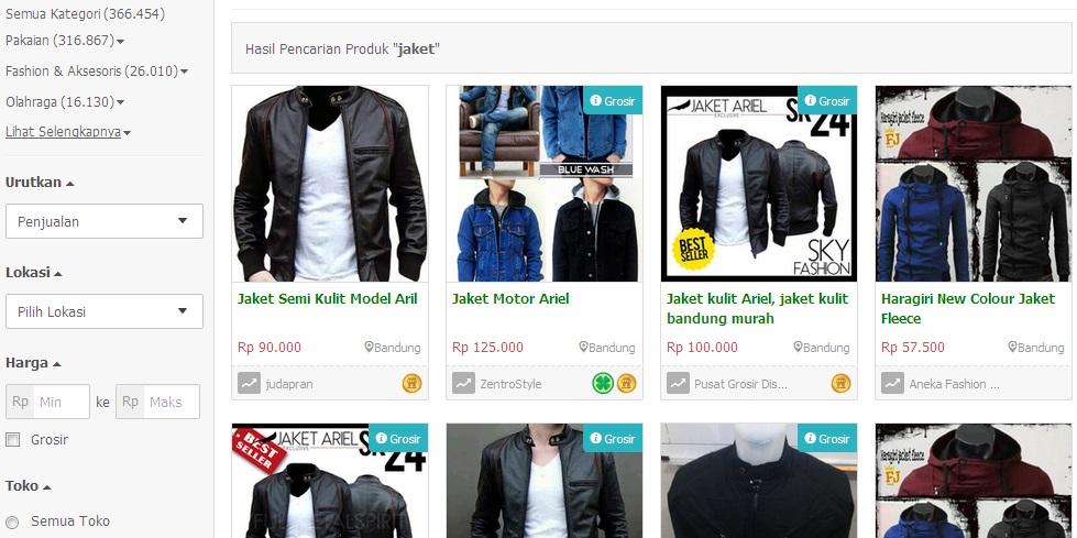 Image result for tokopedia produk