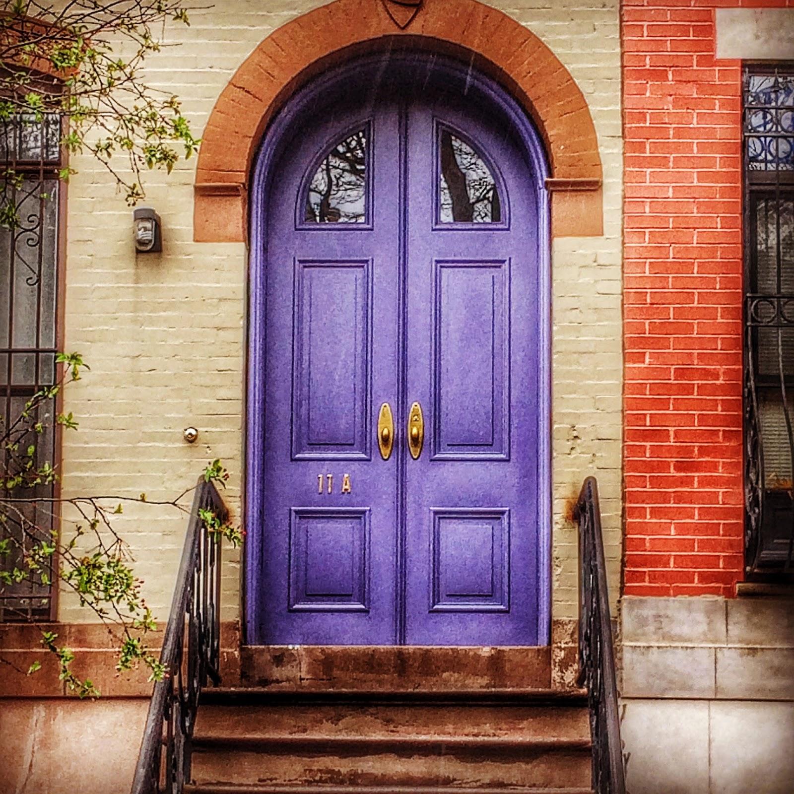 Purple Door & Dark Purple Front Door