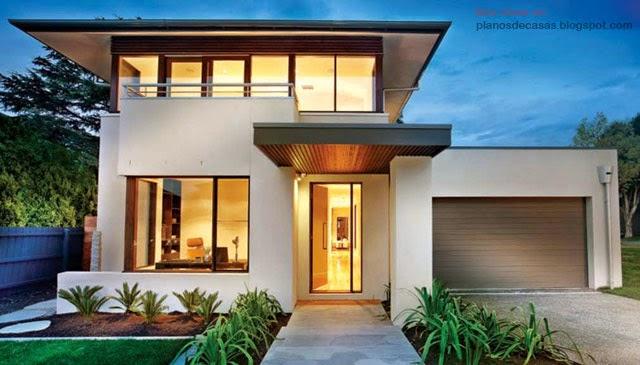 Tipos de planos planos de casas gratis y departamentos - Tipos de fachadas ...