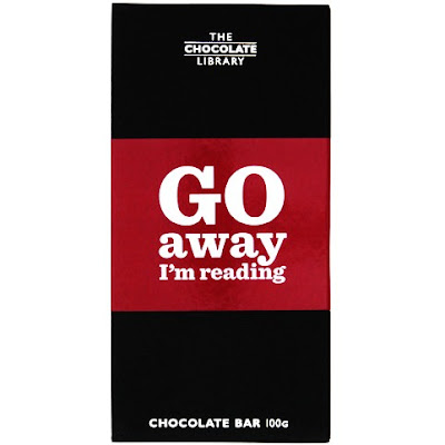 Go Away I'm Reading Chocolate Bar
