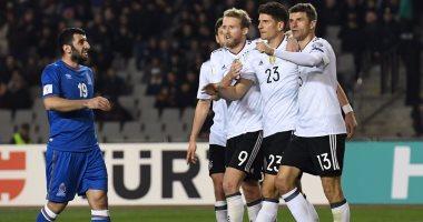 ترتيب منتخبات اوروبا في التصفيات بعد نهاية الجولة الخامسة