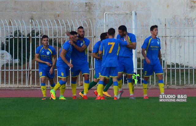 Έχασε με 0-1 ο Παναργειακός από την Ένωση Ερμιονίδας