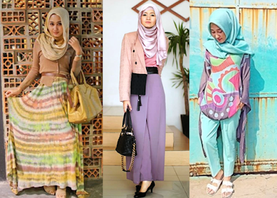 Model Busana Muslim Casual Dian Pelangi