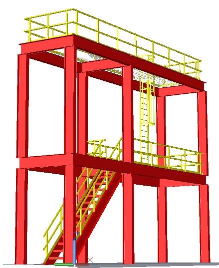 estructuras con AutoCAD Plant 3D