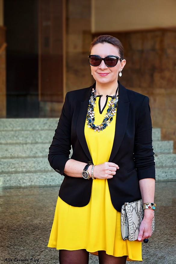 a0ced1f7de4 chaqueta para vestido amarillo