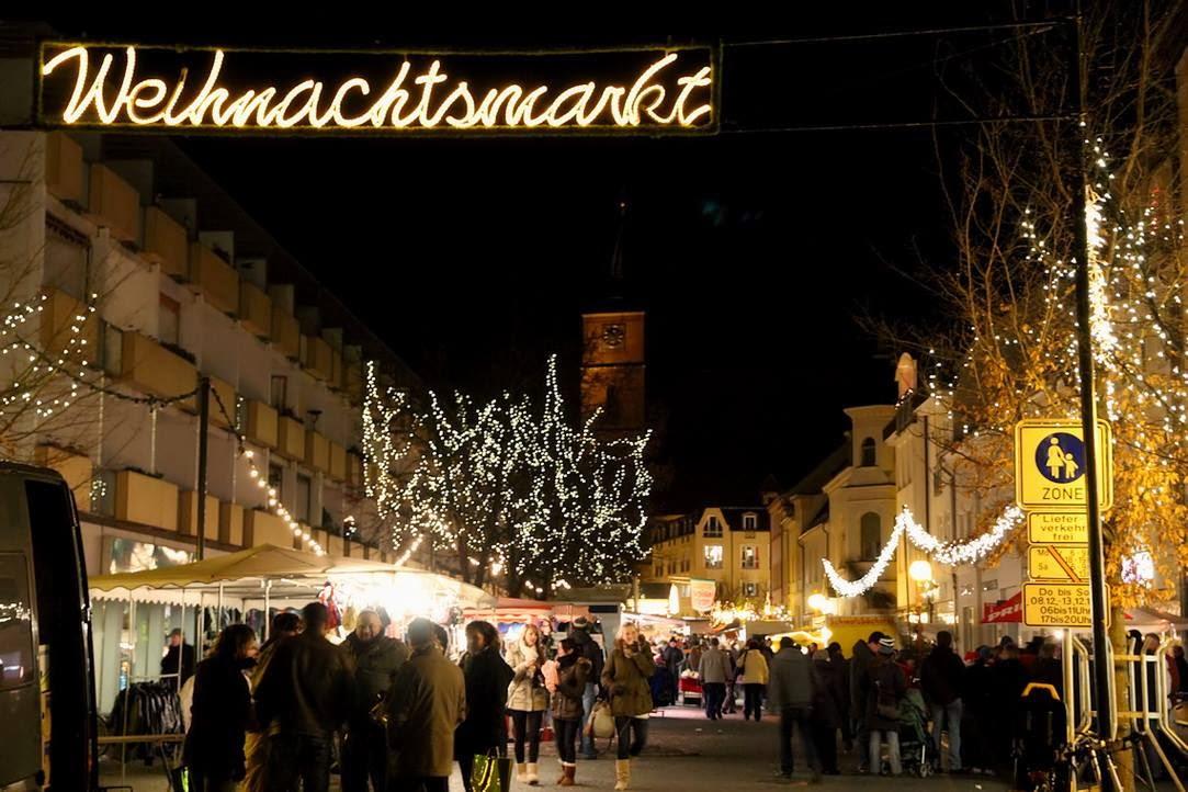 Wo Ist Weihnachtsmarkt Heute.Heute Eröffnet Der Bernauer Weihnachtsmarkt