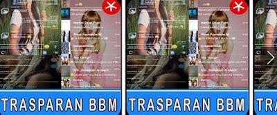 transparan bbm manager APK