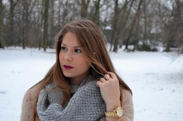 Winter look – wear fur || Zimowa stylizacja – futro