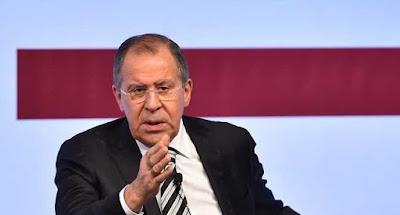 سيرغي لافروف العقوبات الأمريكية على إيران غير مشروعة