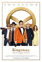 Kingsman 2 Golden Circle movie poster malaysia keyart
