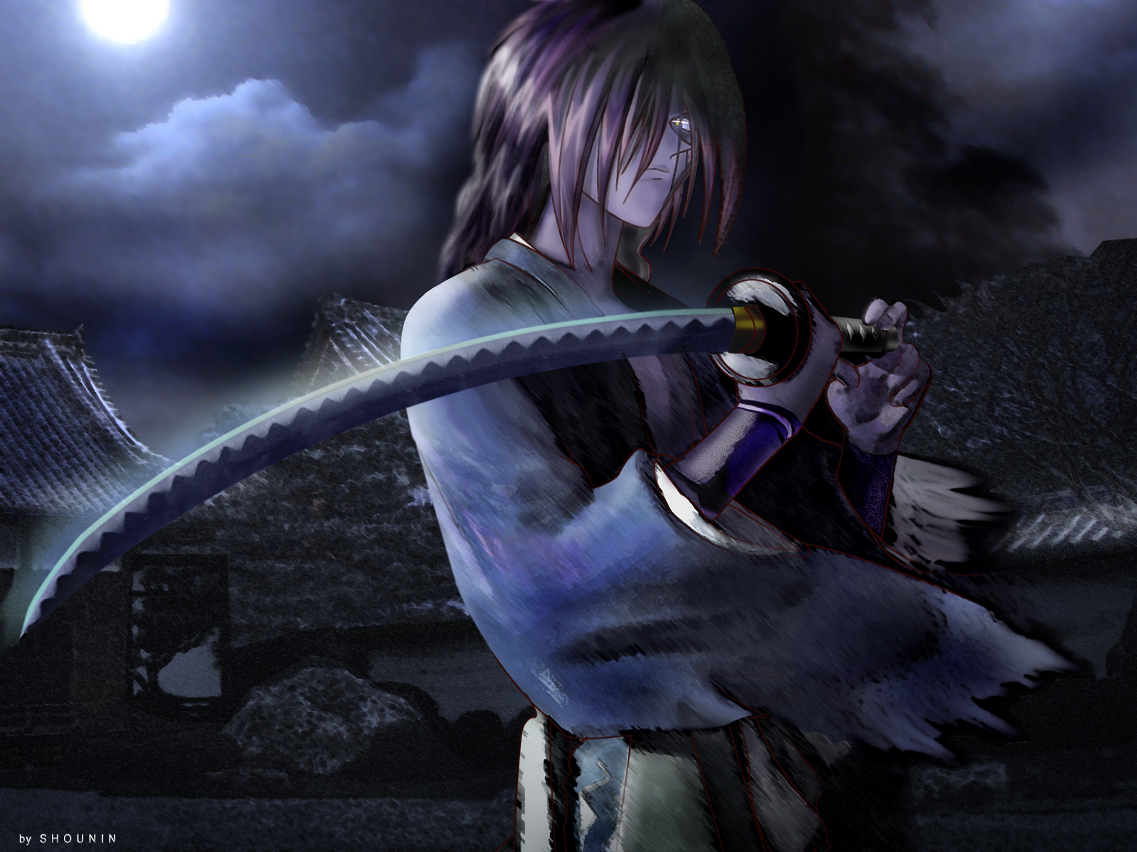 kenshin himura wallpaper - photo #28