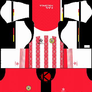 Sarawak FA Fila Kits 2018 -  Dream League Soccer Kits