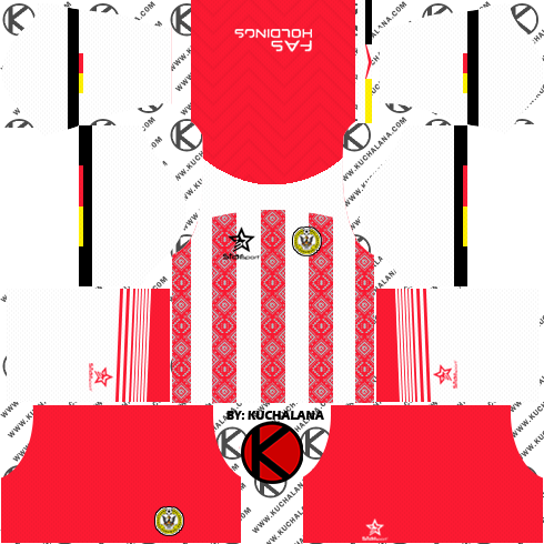 Sarawak FA Kits 2018 -  Dream League Soccer Kits