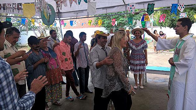 Em Delmiro Gouveia, animação e muito forró marcam Arraiá do Caps
