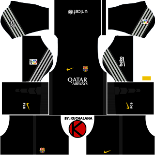 Barcelona Kits 2015/2016 - Dream League Soccer - Kuchalana