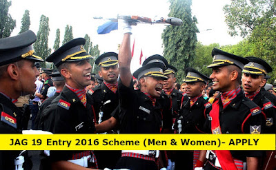 JAG 19 Entry (Men & Women) - Indian Army Lawyer