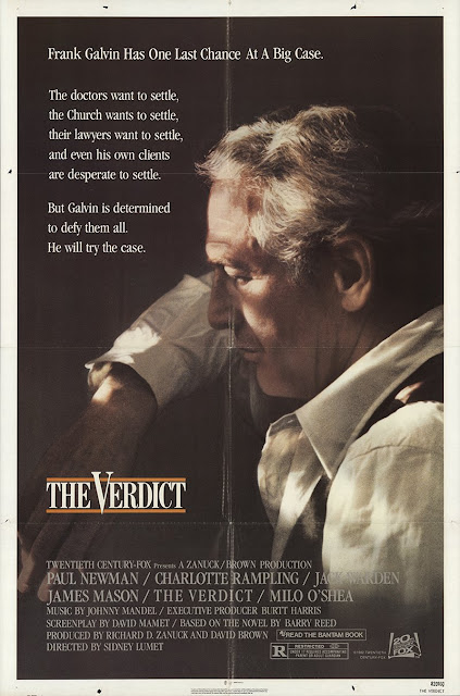 The Verdict 1982 movie poster