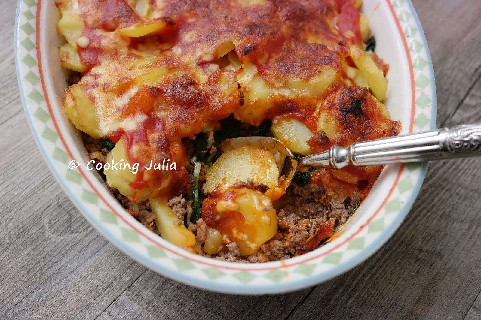 Cooking Julia  Gratin De BŒuf HachÉ Aux Pommes De Terre