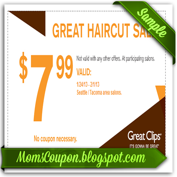 Use Free Printable Great Clips Coupons For Big Discounts Free Printable Coupons 2015