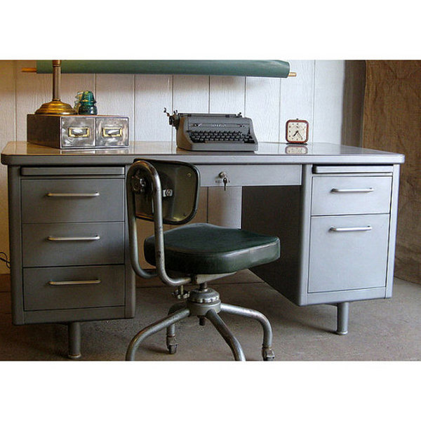 21 New Vintage Home Office Furniture | yvotube.com